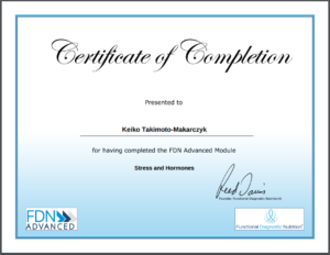 FDN Advanced Stress and Hormones Certificate