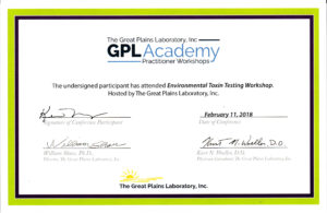 GPL Academy Environmental Toxin Testing