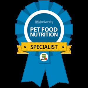Pet Food Nutrition Specialist